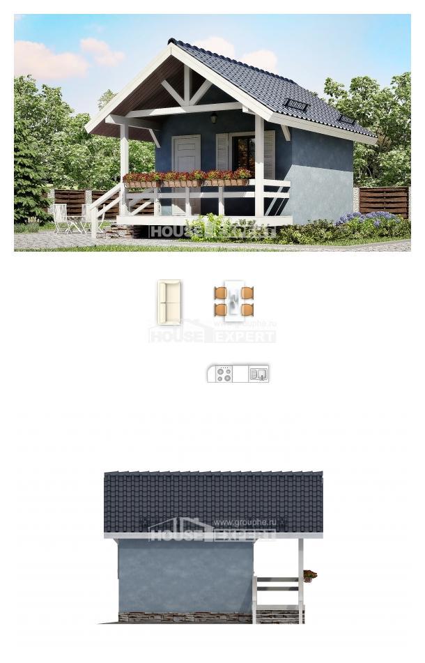 Проект дома 020-001-Л | House Expert
