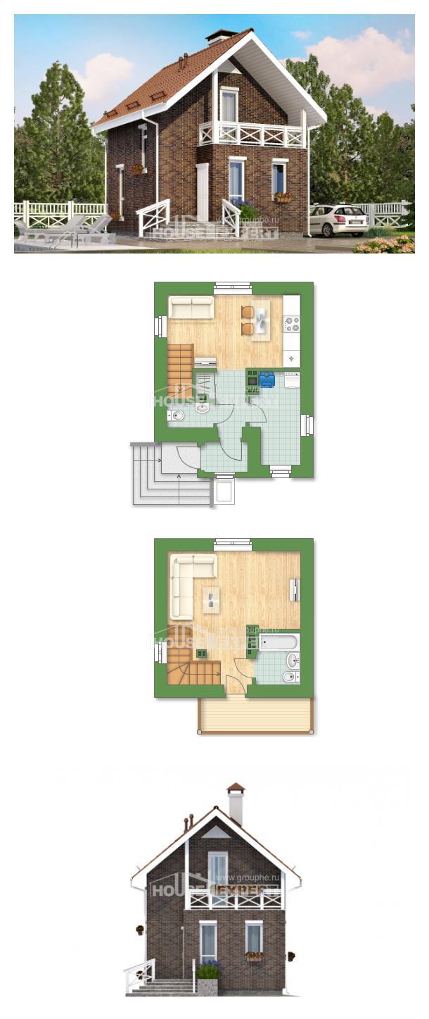 Проект дома 045-001-Л | House Expert