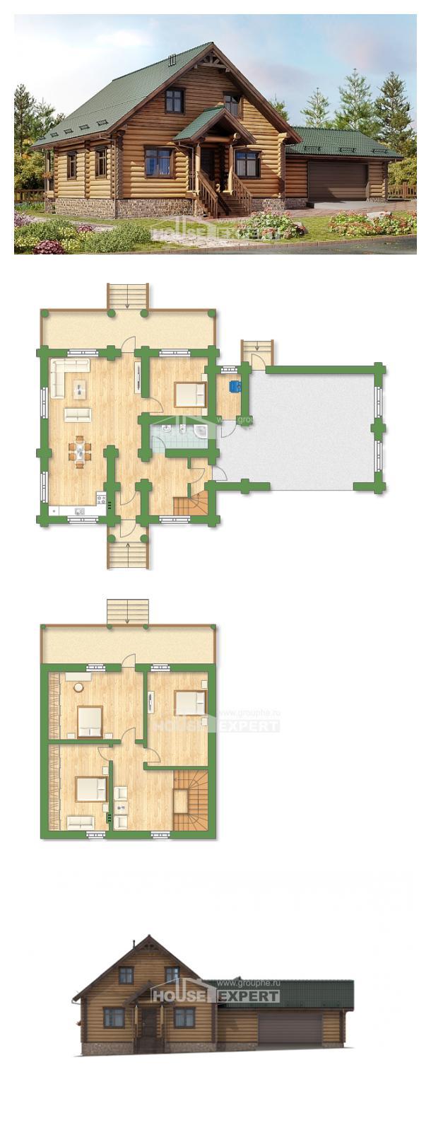 Проект дома 270-002-П | House Expert