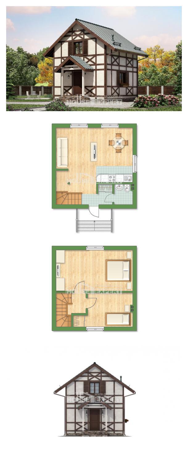 Проект дома 060-002-П   House Expert