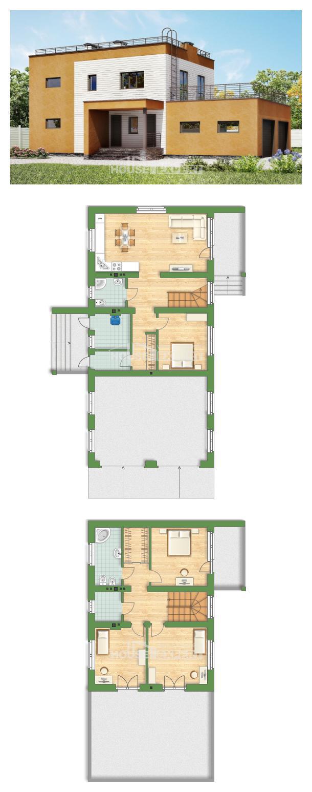 Проект дома 180-012-П   House Expert