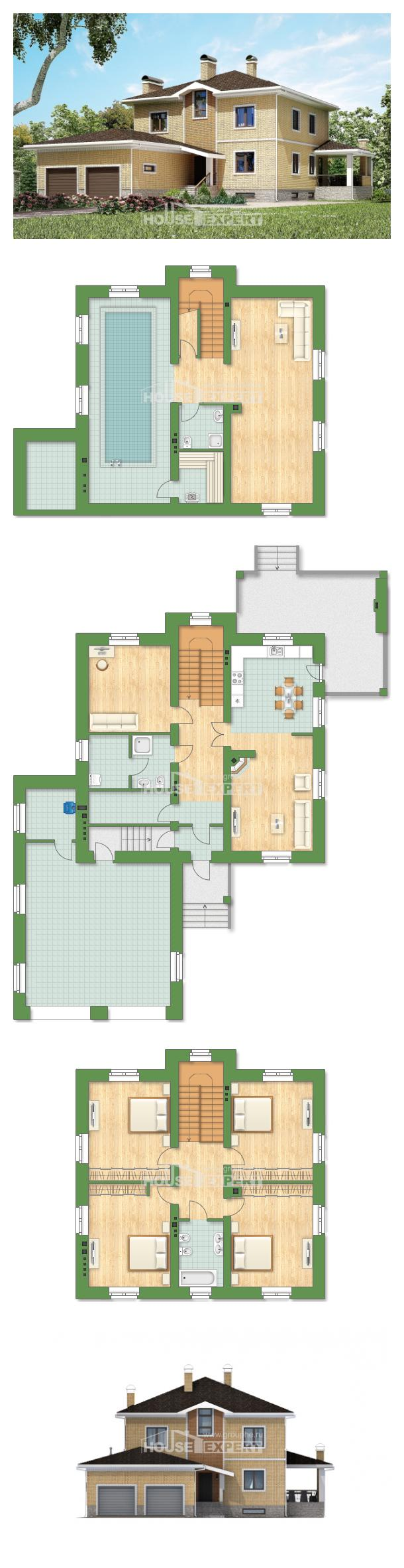 Проект дома 350-002-Л   House Expert