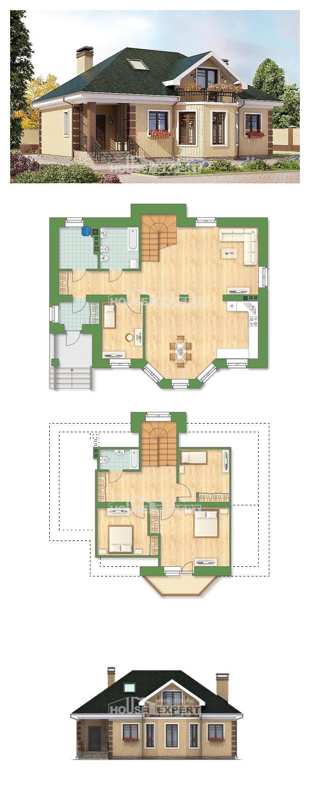 Проект дома 150-013-Л | House Expert
