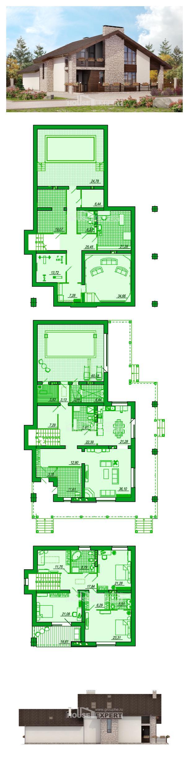 Проект дома 480-001-Л   House Expert