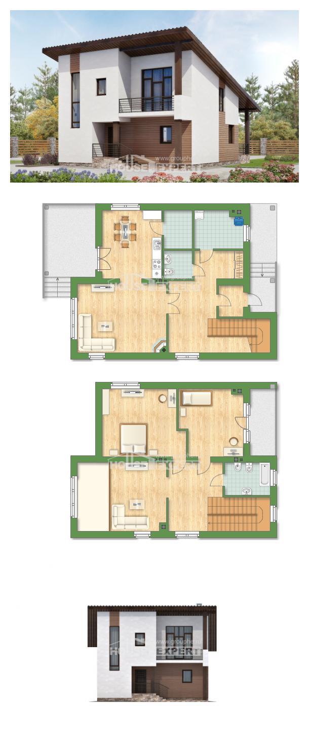 Проект дома 140-005-П | House Expert