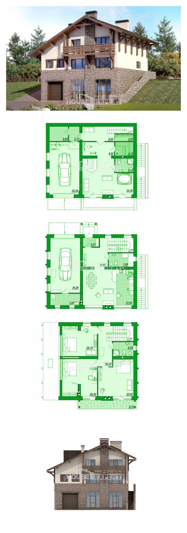 Проект дома 305-002-Л | House Expert