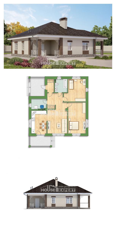 Проект дома 100-004-Л   House Expert